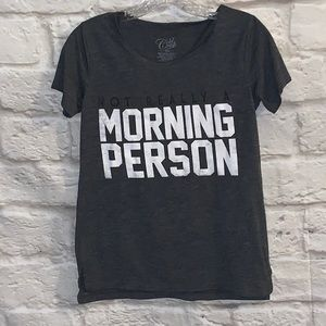 Not really a morning person tee